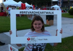 heart walk 2014 selfie