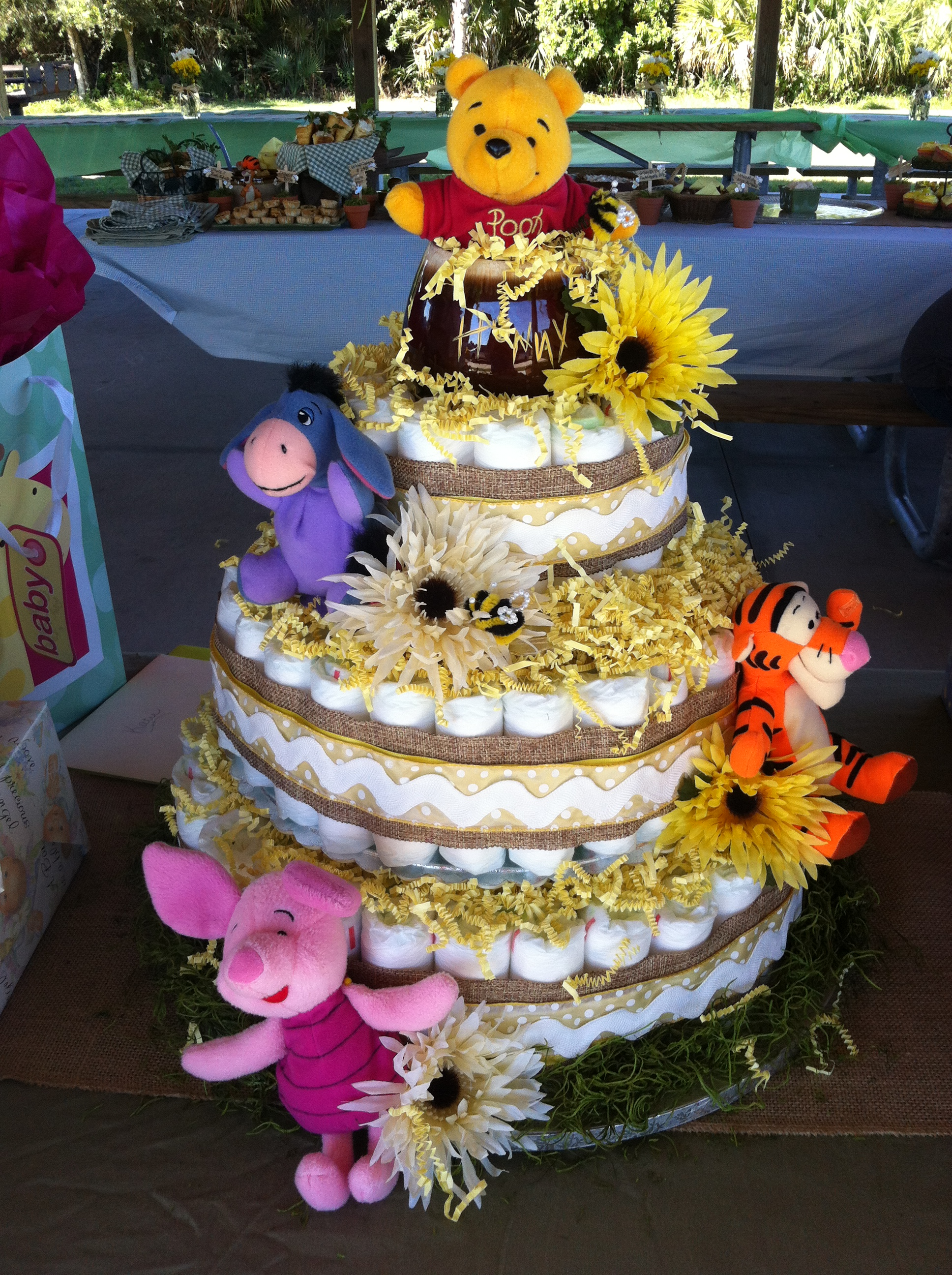 Winnie The Pooh Baby Shower Too Cute Quot Don T Tell Me
